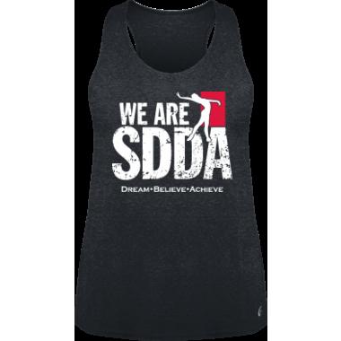 SDDA Loose Fitting Gray Tank