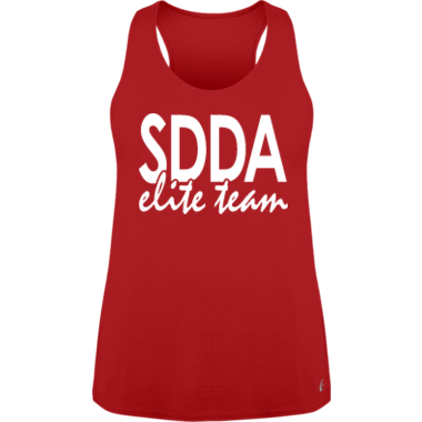Loose Fitting Elite Team Tank in Red