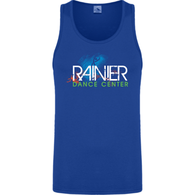 Unisex Adult/Youth Blue Tank