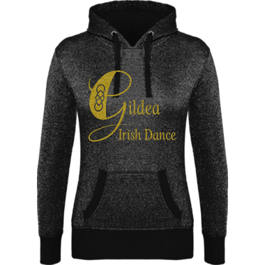 Glitter French Terry Hoodie