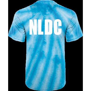 NLDC Blue Tie Dye Shirt