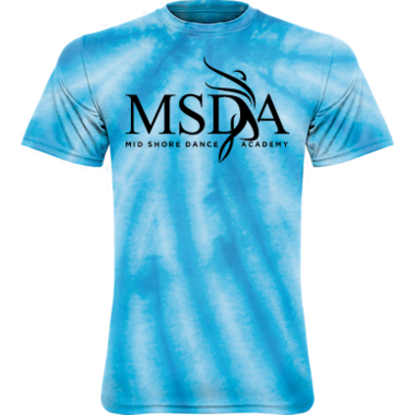 Youth & Adult Tie Dye MSDA Tee