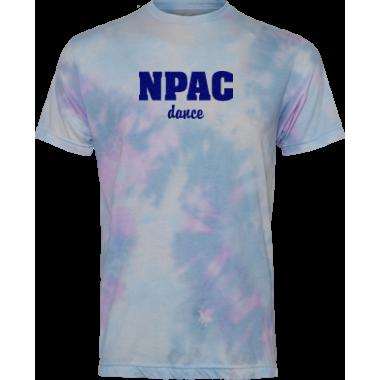 NPAC Glitter TieDye Tee