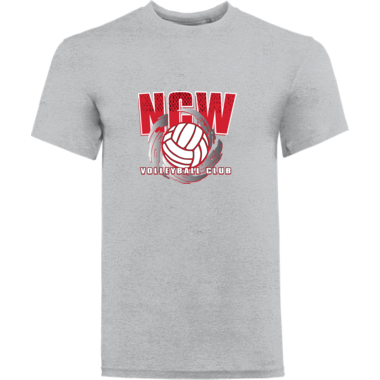 Mens/youth  NCW tee w/screen print logo
