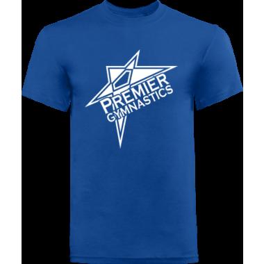 PREMIER GYMNASTICS BASIC BLUE TEE STYLE 2