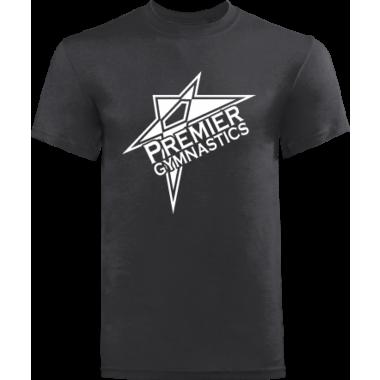 PREMIER GYMNASTICS BASIC BLACK STYLE 2 TEE