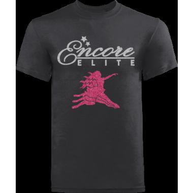 Competition Team Tshirt Glitter logo