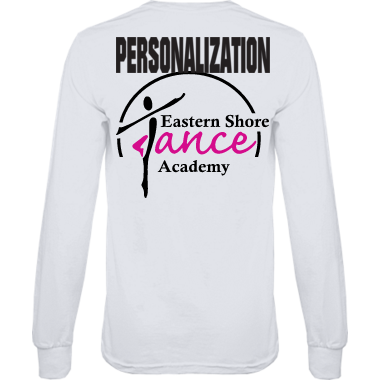 Hanes Long sleeve tagless tee (personalized)