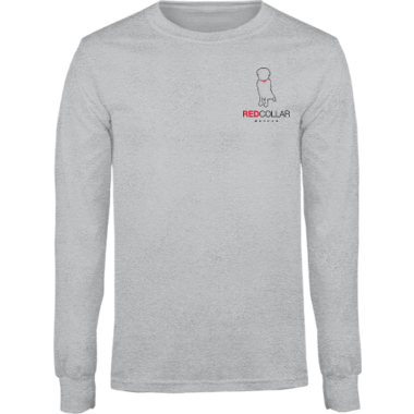 Cotton Long Sleeve Tee w/Logo on Front & Back (Men/Youth)