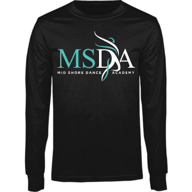 Youth & Adult MSDA Long Sleeve Tee