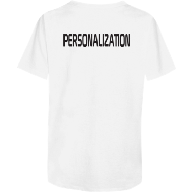 Tagless VNeck with Personalization
