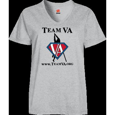 Team VA VNeck SS Tee Digital Print