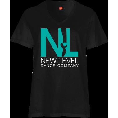 NLDC BLACK V NECK SHIRT