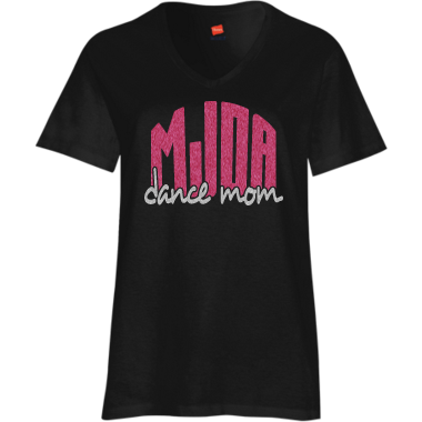 Dance Mom Tee Black