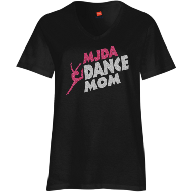 Dance Mom Tee Too! Black
