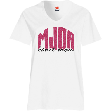 Dance Mom Tee White