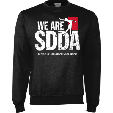 We are SDDA Sweatshirt