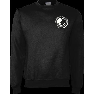 Embroidered Black Band Program Sweatshirt