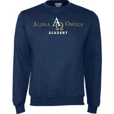 Fleece Crew neck Alpha Omega