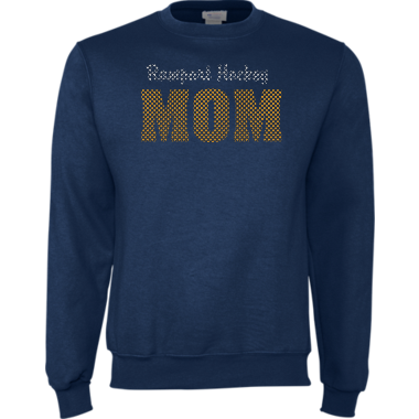 RHINESTONE Rampart Hockey Mom Sweatshirt