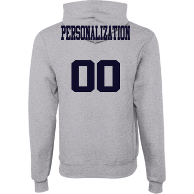 HOODIE WITH NAME AND NUMBER