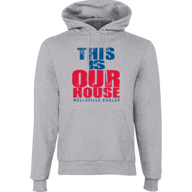 Our House light gray hoodie
