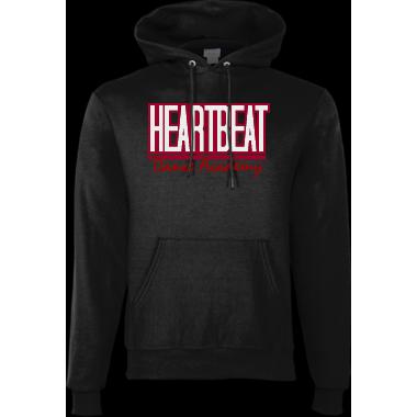 HeartBeat Hoodie 2 (Black)