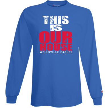 Our House long sleeve in blue