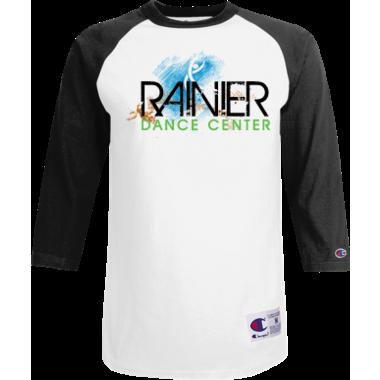 RDC Baseball Shirt Black/White