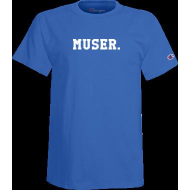 Muser. Champion Tee