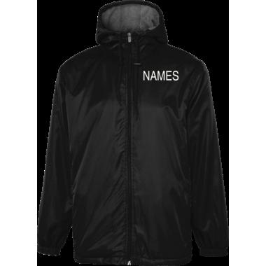 Personalized Full Twill Back Design Stadium Jacket