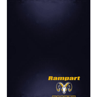Rampart Hockey Fleece Sweatshirt Blanket
