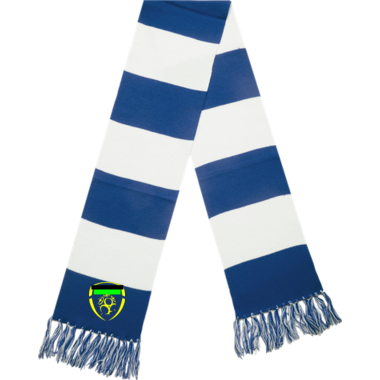 Spectator Scarf with embroidery
