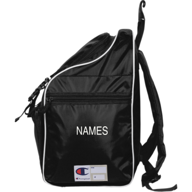 Backpack with name