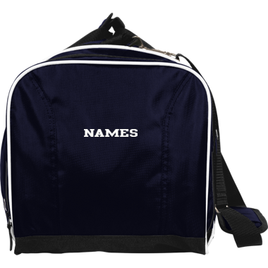 DUFFLE BAG WITH NAME ON SIDE