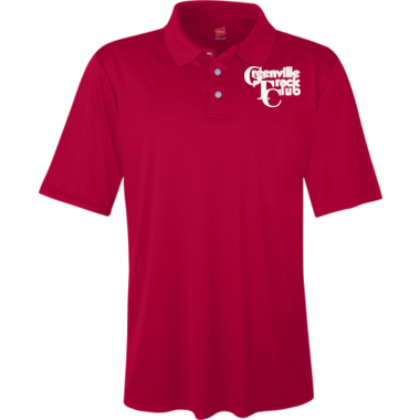 GTC Womens and Mens Polo (Deep Red)