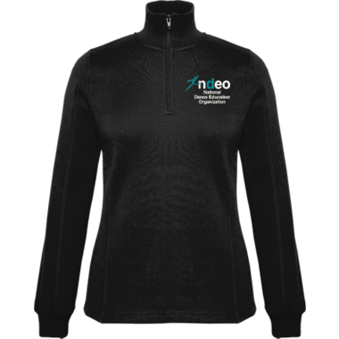 Ladies 1/4 Zip Fleece
