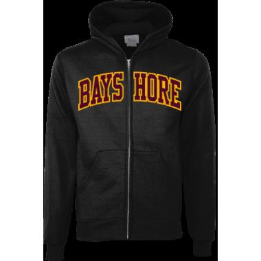 Bayshore youth zip up