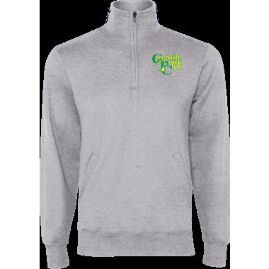 GTC Unisex 1/4 Zip Fleece Pullover (Gray)