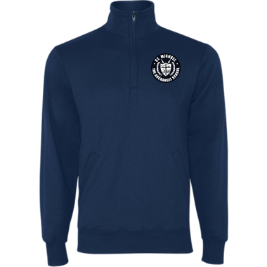 Unisex Powerblend® Fleece 1/4 Zip Pullover