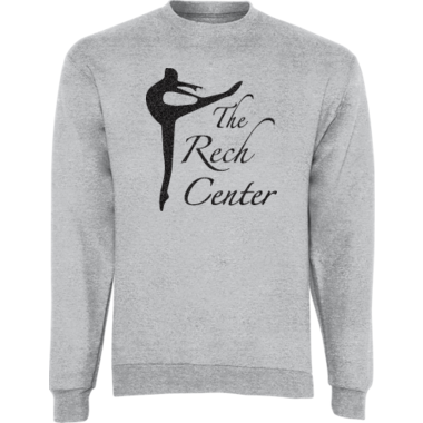 Glitter Crew Neck Sweatshirt