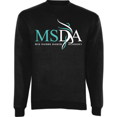 MSDA Youth & Adult Crew Neck Sweatshirt