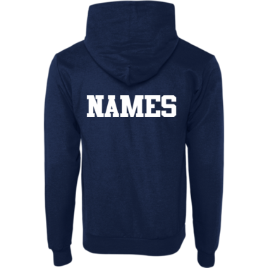 Hoodie with your name on the back