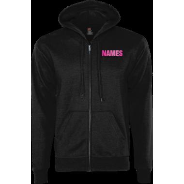 EcoSmart® FullZip Hoodie w/Personalized Name