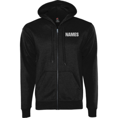 EcoSmart® FullZip Mom Hoodie w/Glitter and Personalized Name