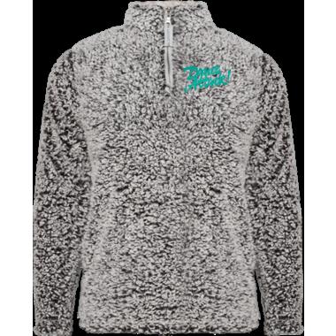 Unisex Sherpa 1/4 Zip Jacket