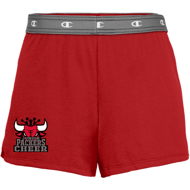 Embroidered Cheer Shorts Women/Girl Sizes