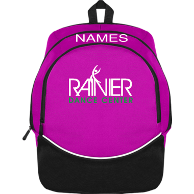 RDC Personalized Pink Backpack