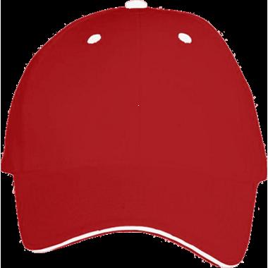 Red Sandwich Bill Hat