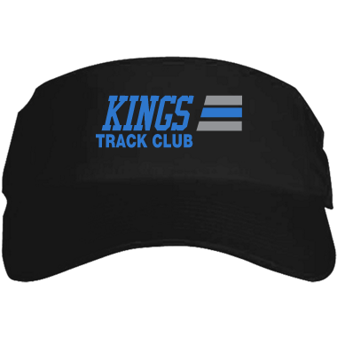 Kings Track Black Visor